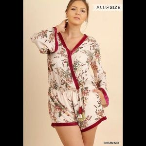 NEW PLUS UMGEE ROMPERS (XL&1XL)